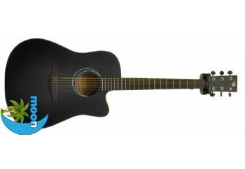 Moon DG120C Siyah - Akustik Gitar