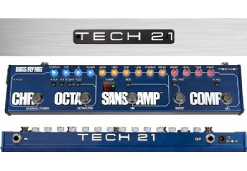 Tech 21 Bass Fly Rig Multi-Effects Board - Bass Gitar Prosesör