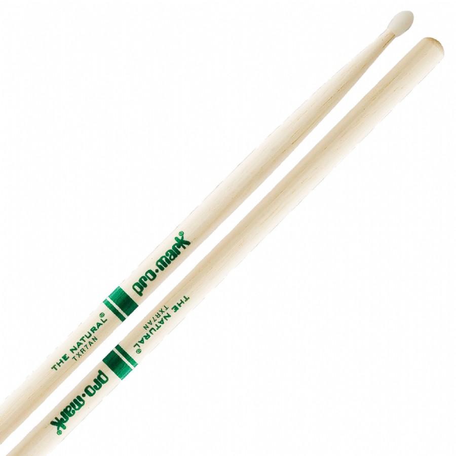 ProMark TXR7AN Hickory 7A ProRound Nylon Tip Sticks