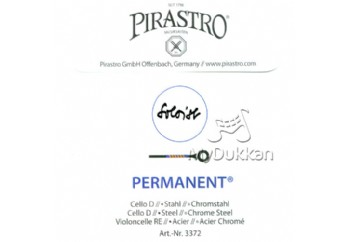 Pirastro Permanent Cello D (Re) - Tek Tel - Çello teli