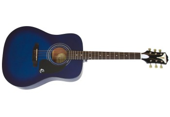 Epiphone PRO-1 EAPRTLCH1 - Trans Blue - Akustik Gitar