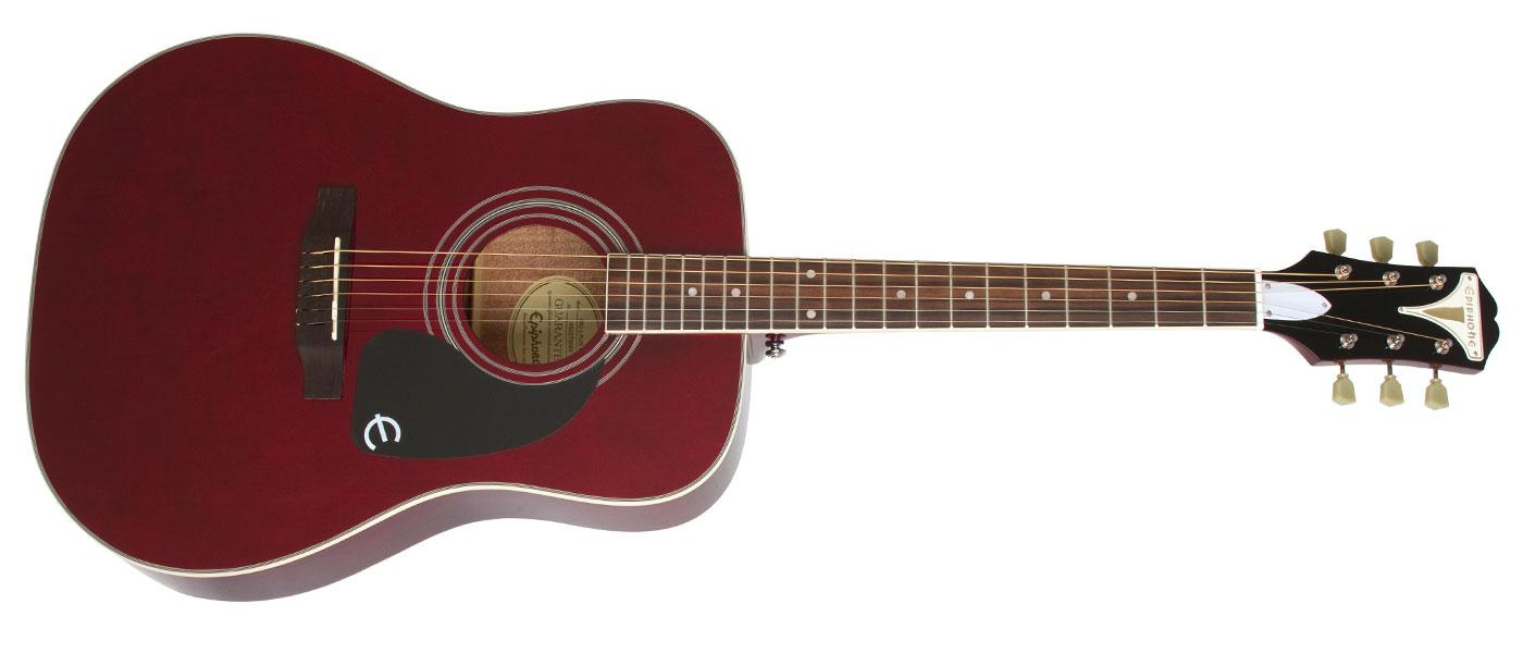 Epiphone Pro 1 Plus Eappwrch1 Wine Red Akustik Gitar Fiyati