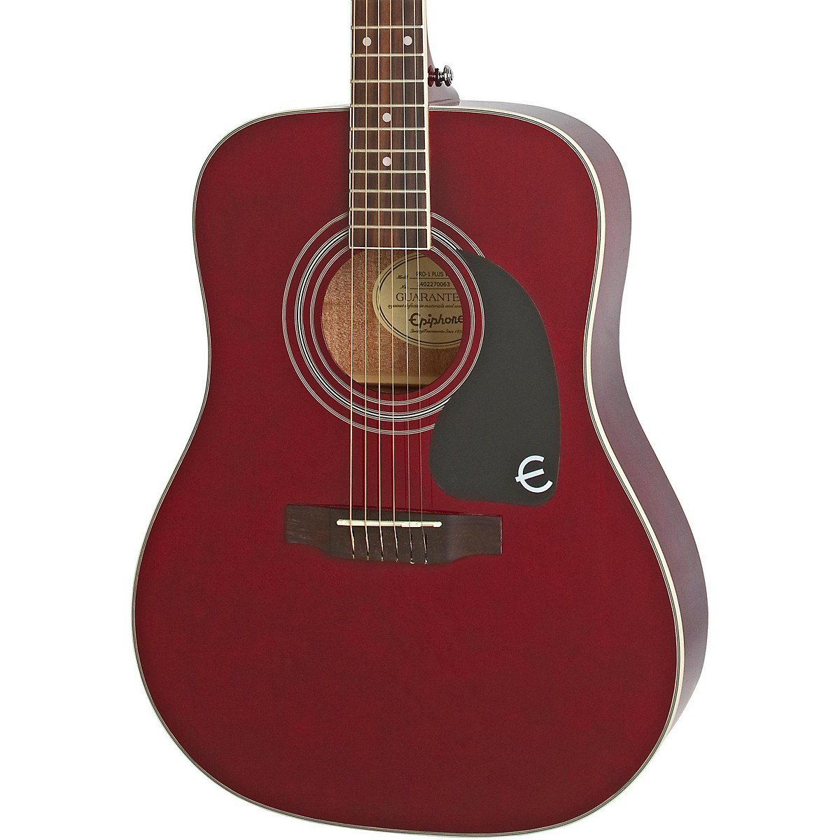 epiphone pro 1 plus eappwrch1 wine red akustik gitar mydukkan