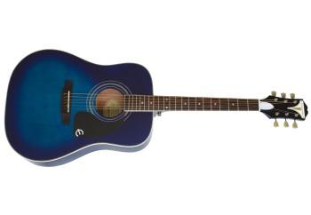 Epiphone Pro-1 Plus EAPPTLCH1 - Trans Blue - Akustik Gitar