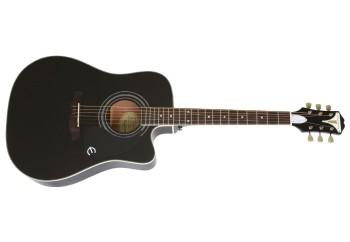 Epiphone Pro-1 Ultra EEPUEBCH1 - Ebony - Elektro Akustik Gitar