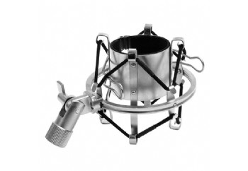 MXL 57 High-Isolation Microphone Shock Mount Silver - Shock Mount