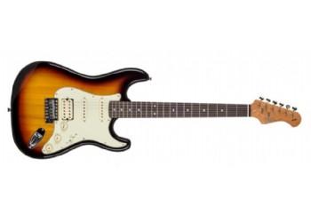 Kozmos KST-62HSS-GRWN 62 Stratocaster HSS 3TS - 3 Ton Sunburst