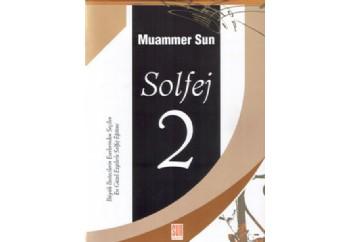 Solfej 2 Kitap - Muammer Sun