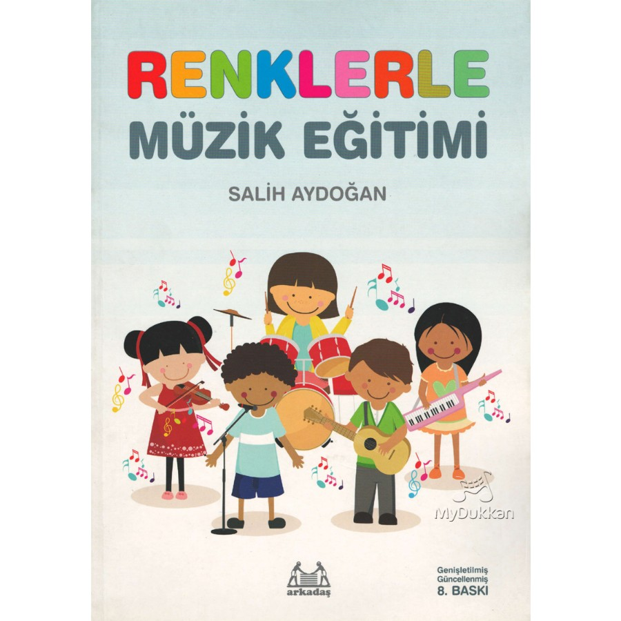 İlkokullar İçin Renklerle Müzik Eğitimi