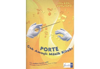 Porte Çok Amaçlı Müzik Kitabı Kitap