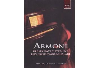 Armoni - Klasik Batı Sistemine Rus Ekolü Yaklaşımları Kitap