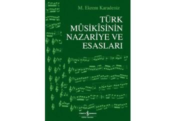 Türk Musikısinin Nazariye ve Esasları Kitap - M. Ekrem Karadeniz