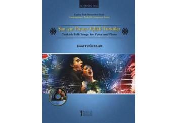 Şan İçin Piyano Eşlikli Türküler Kitap - Erdal Tuğcular