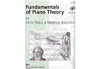 Fundamentals of Piano Theory Level 10 Kitap - Piyano Teorisi