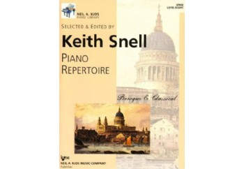 Piano Repertoire Barok/Klasik Level 8 Kitap - Keith Snell