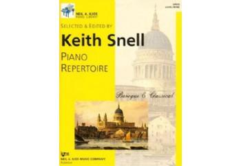Piano Repertoire Barok/Klasik Level 9 Kitap - Keith Snell