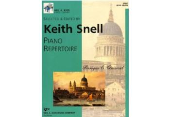 Piano Repertoire Barok/Klasik Level 7 Kitap - Keith Snell