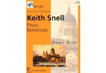 Piano Repertoire Barok/Klasik Level 6 Kitap - Keith Snell