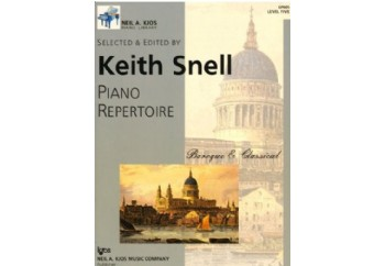 Piano Repertoire BarokKlasik Level 5 Kitap - Keith Snell