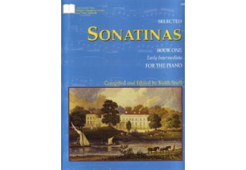 Selected Sonatinas Book 1 Kitap - Keith Snell