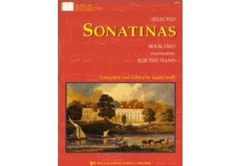 Selected Sonatinas Book 2 Kitap - Keith Snell