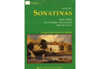 Selected Sonatinas Book 3 Kitap - Keith Snell
