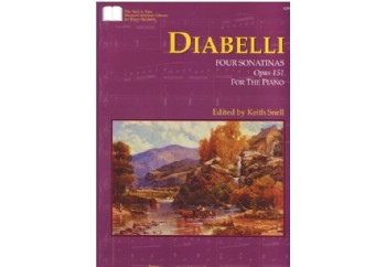 Diabelli Four Sonatinas Op151 Kitap - Keith Snell
