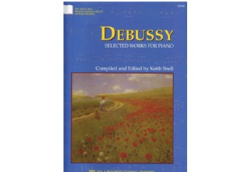 Debussy Selected Works For Piano Kitap - Keith Snell