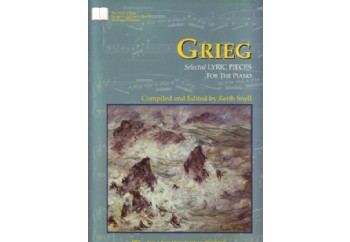 Grieg Selected Lyric Pieces For Piano Kitap - Keith Snell