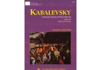 Kabalevsky 24 Little Pieces Op39 Kitap - Keith Snell