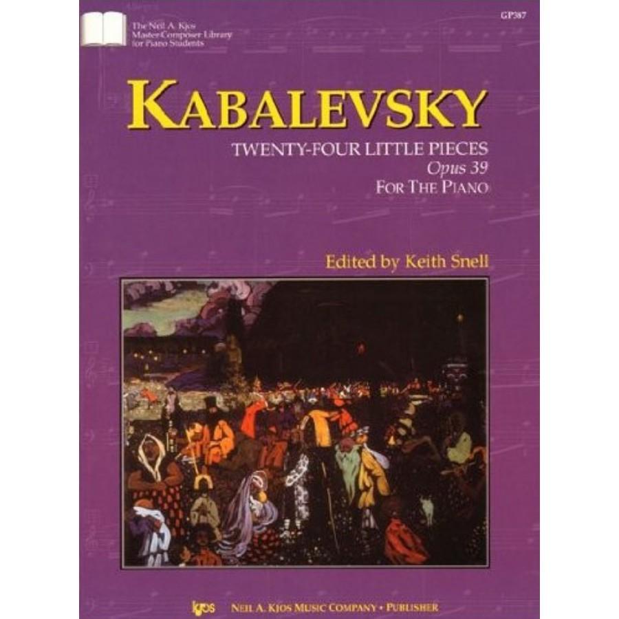 Kabalevsky 24 Little Pieces Op39