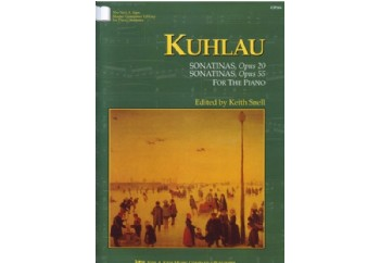 Kuhlau Sonatinas Opus 20 and Opus 55 Kitap - Keith Snell