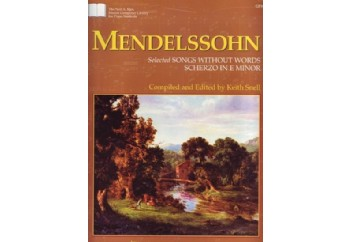 Mendelssohn Selected Songs Without Words Kitap - Keith Snell