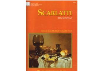 Scarlatti Ten Sonatas Kitap - Keith Snell