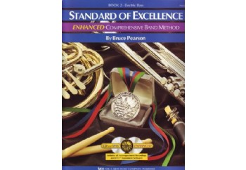 Standard Of Excellence Comprehensive Band Method Book 2 Kitap - Bas Gitar Metodu (2 CD'li)