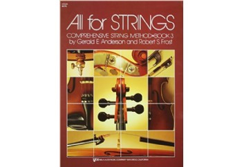All For Strings Comprehensive String Method - Book 3 Kitap - Keman Metodu
