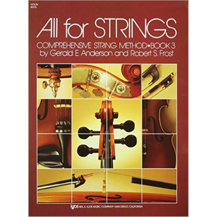 All For Strings Comprehensive String Method - Book 3