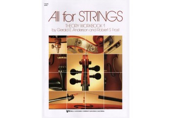 All For Strings - Theory Workbook 1 Kitap - Keman Teori Çalışma Kitabı
