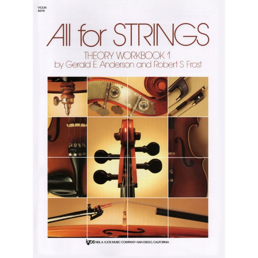 All For Strings - Theory Workbook 1