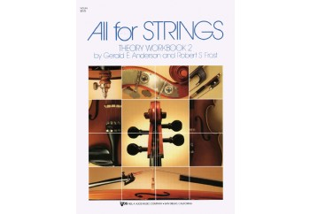 All For Strings - Theory Workbook 2 Kitap - Keman Teori Çalışma Kitabı