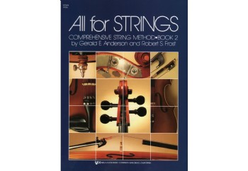 All For Strings Comprehensive String Method - Book 2 Kitap - Keman Metodu