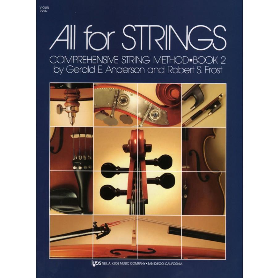 All For Strings Comprehensive String Method - Book 2