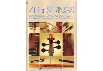 All For Strings Comprehensive String Method - Book 1 Kitap - Keman Metodu