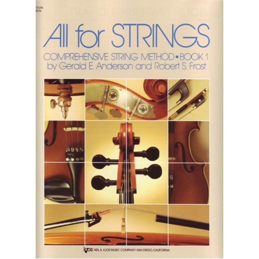 All For Strings Comprehensive String Method - Book 1