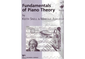 Fundamentals of Piano Theory Level 1 Kitap - Piyano Teorisi