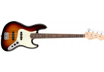 Fender American Professional Jazz Bass 3-Color Sunburst - Rosewood - Bas Gitar