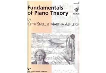 Fundamentals of Piano Theory Level 8 Kitap - Piyano Teorisi