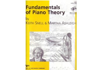 Fundamentals of Piano Theory Level 9 Kitap - Piyano Teorisi