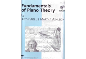 Fundamentals of Piano Theory Level 2 Kitap - Piyano Teorisi