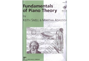 Fundamentals of Piano Theory Level 3 Kitap - Piyano Teori